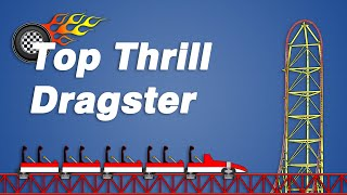 How Top Thrill Dragster Works
