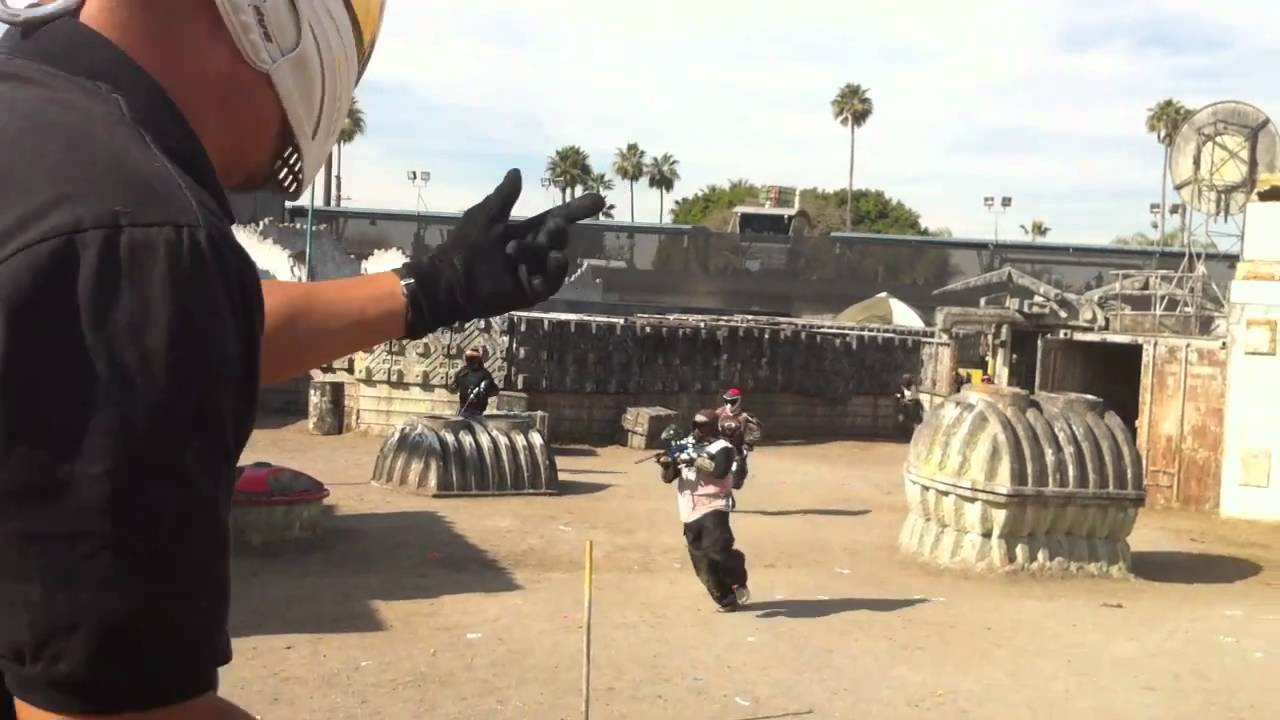 Hollywood Sports Paintball Park - Mini Scenario Game - YouTube