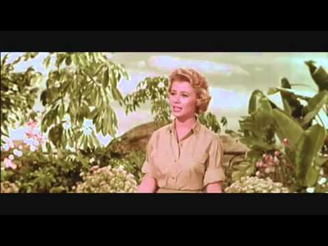 Mitzi Gaynor   Screen Test for the film South Pacific #1