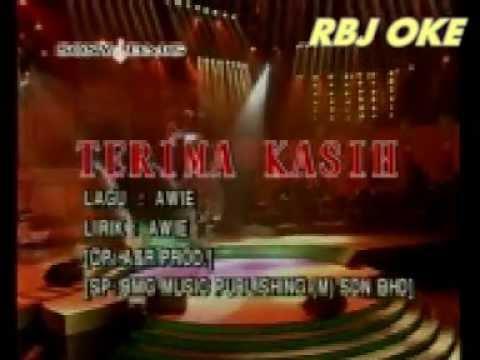 TANPA SUARA AWIE terima kasih MTV