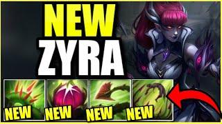 NEW SKIN!!! Wait... Zyra is hot now?!?! - (Crime City Nightmare Zyra)