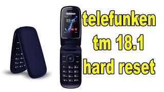 telefunken tm 18.1 hard reset