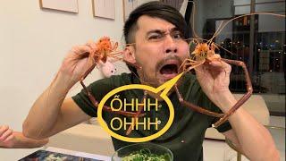 Diễn Viên Lâm Minh Thắng Đi Metro Mua Tôm Càng Khổng Lồ Và Cá Mú Về Nấu ăn