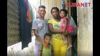 Enfermera cubana vive con su familia en condiciones deplorables