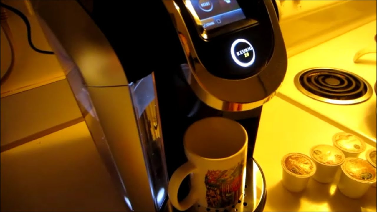 The New Keurig 20 Setup K Series Youtube