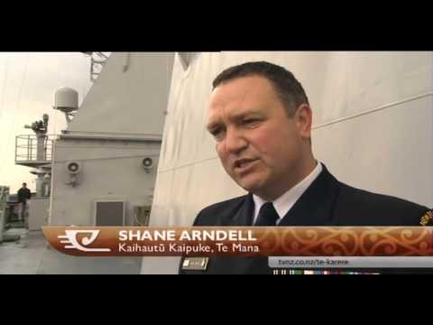 HMNZS Te Mana set sail for piracy watch