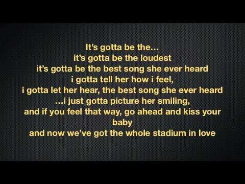 Tpain ft chris brown, Best love song lyrics