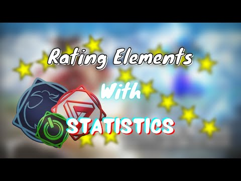 Rating elements with statistics | Elemental BattleGrounds - Roblox