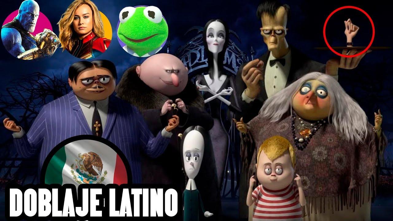 Los Locos Addams Conoce A Los Actores De Su Doblaje Trailer Youtube