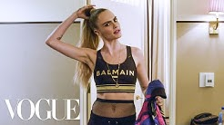 Cara Delevingne Gets Ready for the Balmain x Puma Collab Launch | Vogue