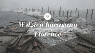 Życie W Usa: W Dzień Huraganu Florence | Vlog, Karolina Północna