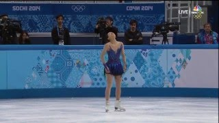 Great performance by Mao Asada (Sochi Olympic Games 2014 free program)