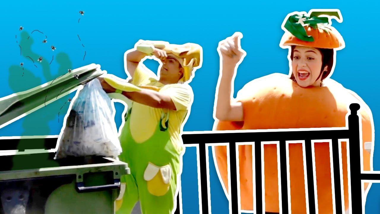 فوزي موزي وتوتي - محافظة على بيئتنا نظيفة، درس الرسم، مشهد السوق، صورة للفيسبوك
