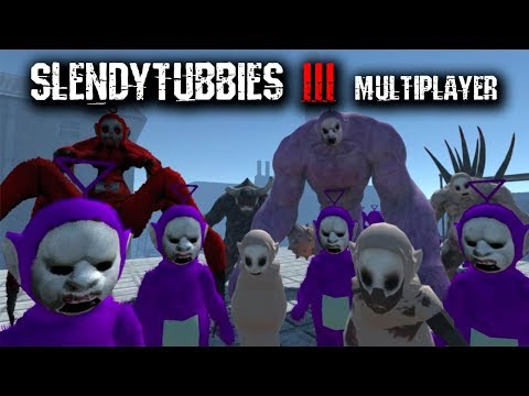 SLENDYTUBBIES 3: |MULTIJUGADOR| ¡NUEVO MODO SANDBOX!