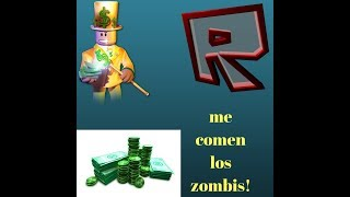 Roblox-Help me eating! the zombies ep7-gameplay in Spanish