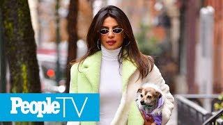 Newlywed Priyanka Chopra Steps Out In N.Y.C. In White Ensemble | PeopleTV
