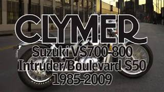 Clymer Video Peek Inside the 1985-2009 Suzuki Intruder 800/Boulevard S50 Cruiser Manual