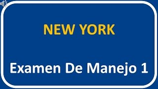 Examen De Manejo De New York 1