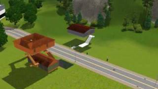 Sims 3 : How To Build A House Without Support