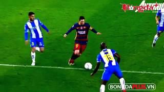 Học cách rê bóng qua người như Messi