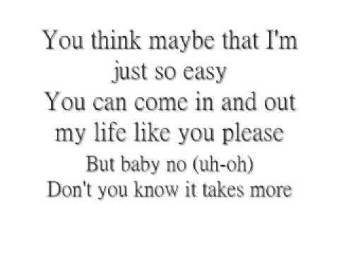 It Takes More - Jordin Sparks *Lyrics*
