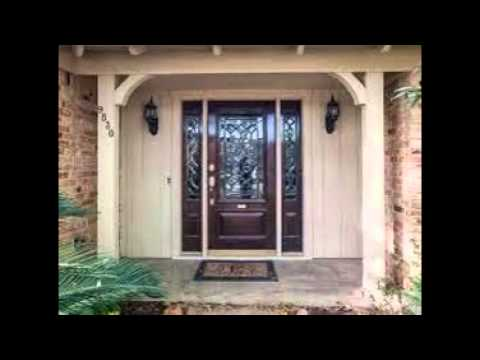 entry doors with sidelights - YouTube