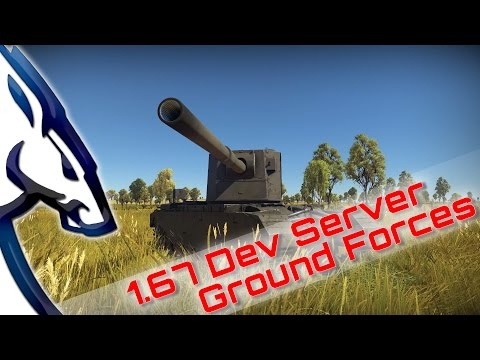 War Thunder: 1.67 Dev Server (Ground Forces)