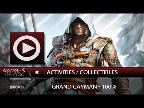 (SOG) Grand Cayman / 100% / Activities & Collectibles - Navigation Guide (ASSASSIN'S CREED 4)