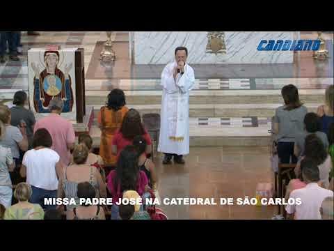 MISSA DAS BENÇÃOS COM PADRE JOSÉ NA CATEDRAL -  25/10/2019