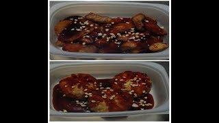 [친구푸드]삼겹바베큐, 비빔왕만두 레시피