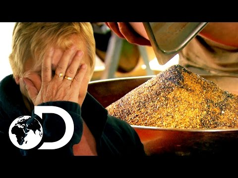 The Largest Gold Clean Up In Gold Rush History | Gold Rush