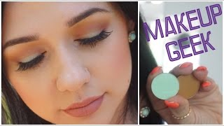 MAKEUP GEEK SHORE THING AND DESERT SANDS MAKEUP TUTORIAL