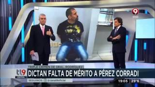 Dictan falta de mérito a Pérez Corradi