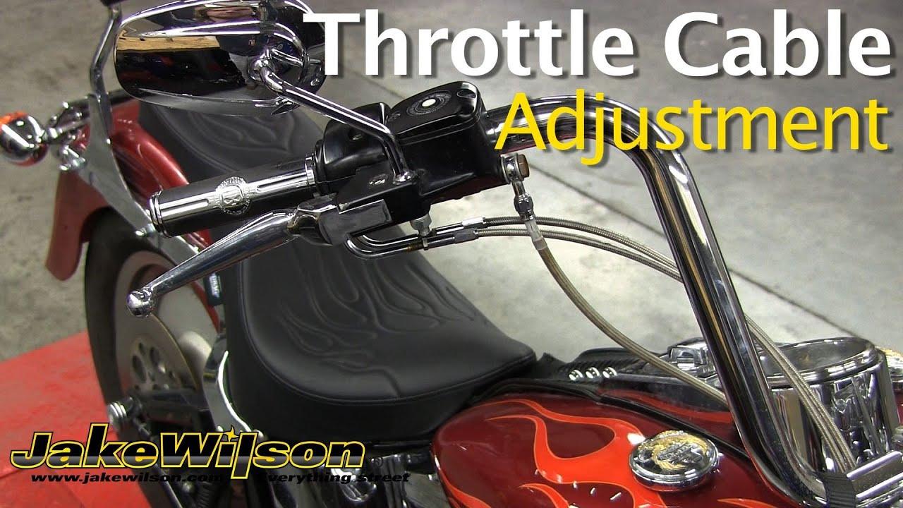Harley Davidson Throttle Cable Adjustment