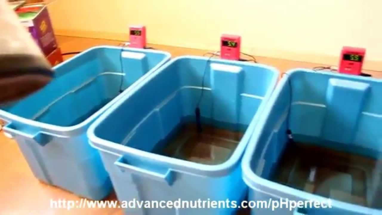 Advanced Nutrients: pH Perfect Demonstration