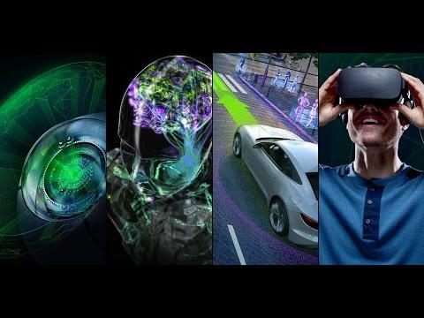 CES 2017 Topics in NVIDIA CEO Jen-Hsun Huang's Keynote