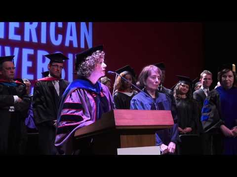 AUP Commencement exercise 2014