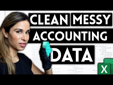 How To Import & Clean Messy Accounting Data in Excel   Use Power Query to Import SAP Data