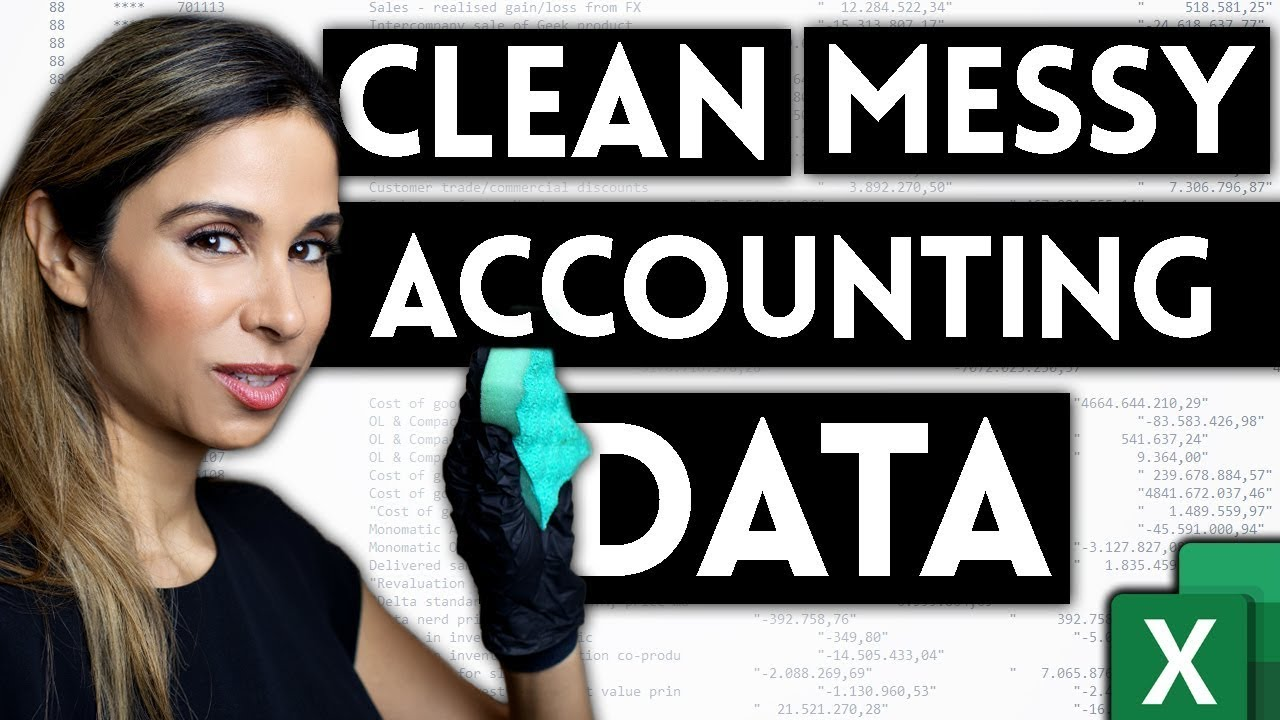 How to Import & Clean Messy Accounting Data in Excel