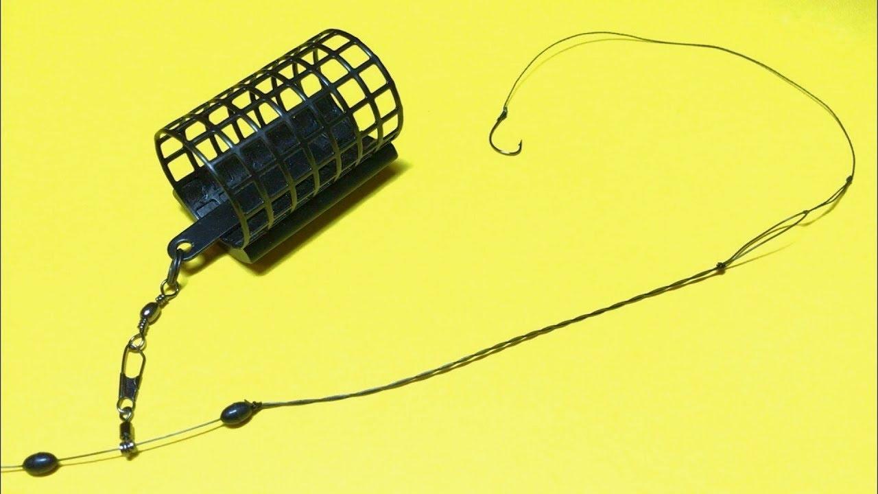 Фидерный монтаж инлайн. Фидер для начинающих. Лайфхаки и самоделки для рыбалки. Рыбалка 2021
