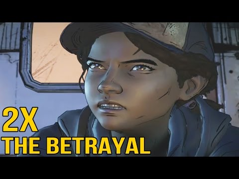 Doubly Betraying Clementine - The Walking Dead Season 3 Game |