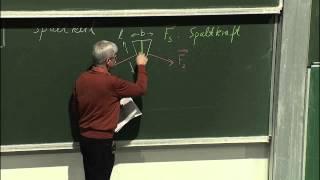 Experimentalphysik I   Vorlesung 9 vom 15 11 2012