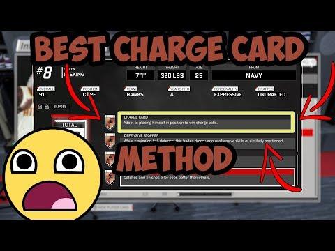 Nba 2k18 The Ultimate Charge Card Badge Tutorial!! (100% Easiest Method)