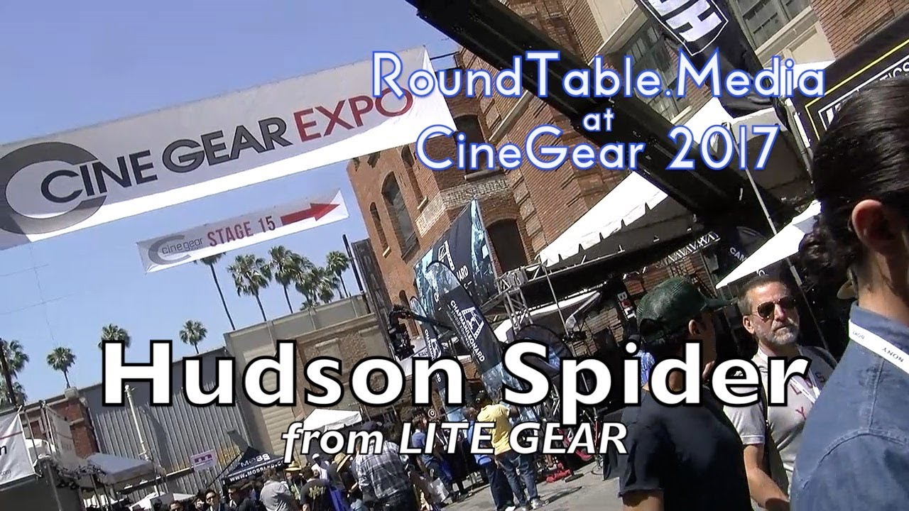 CineGear'17 Hudson Spider Light