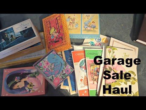 Garage Sale Haul-Vintage Stationery