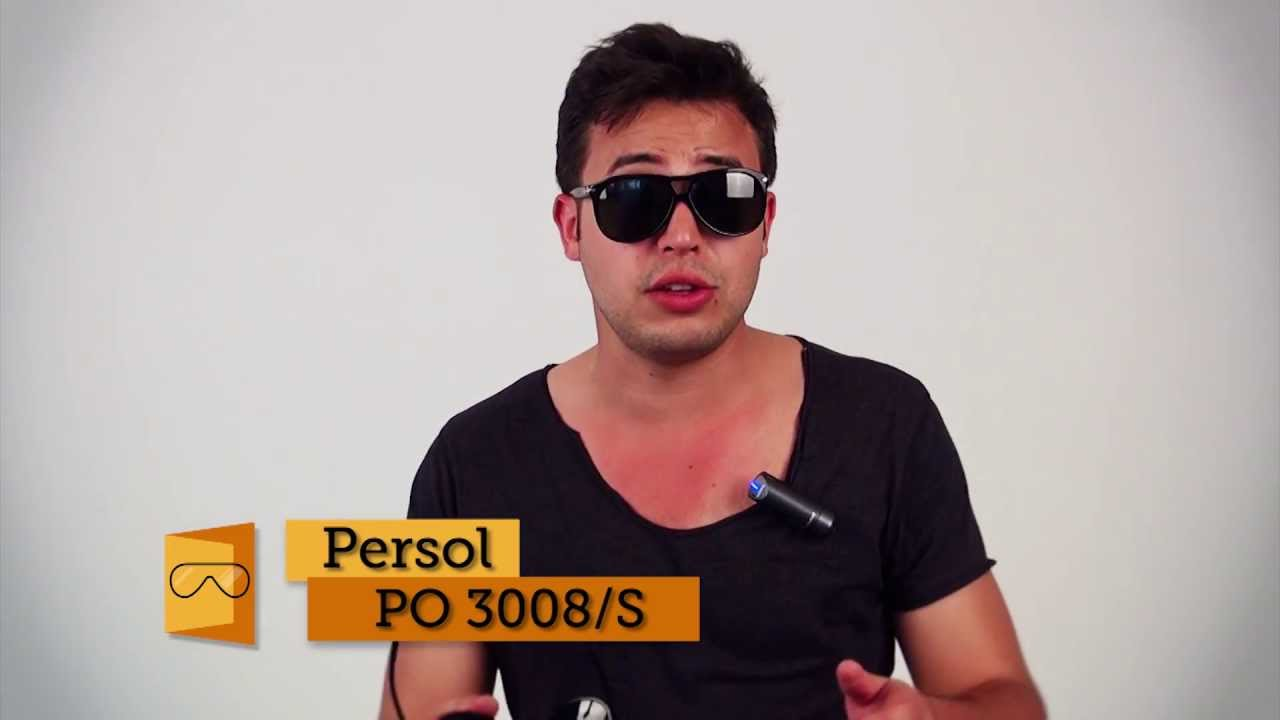 74bdf33159 Persol Roadster PO3008S sunglasses review - SmartBuyGlasses - YouTube