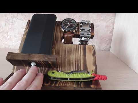 подставка для телефона из дерева своими руками