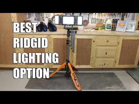 Best Lighting Option From Ridgid
