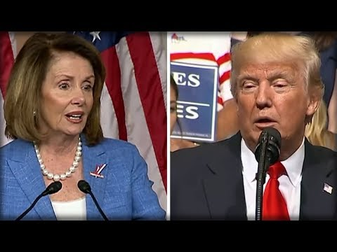 AFTER DEMS TURN ON NANCY PELOSI, TRUMP IMMEDIATELY DOES WHAT HE DOES BEST