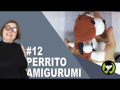 PERRITO AMIGURUMI 12 tutorial paso a paso